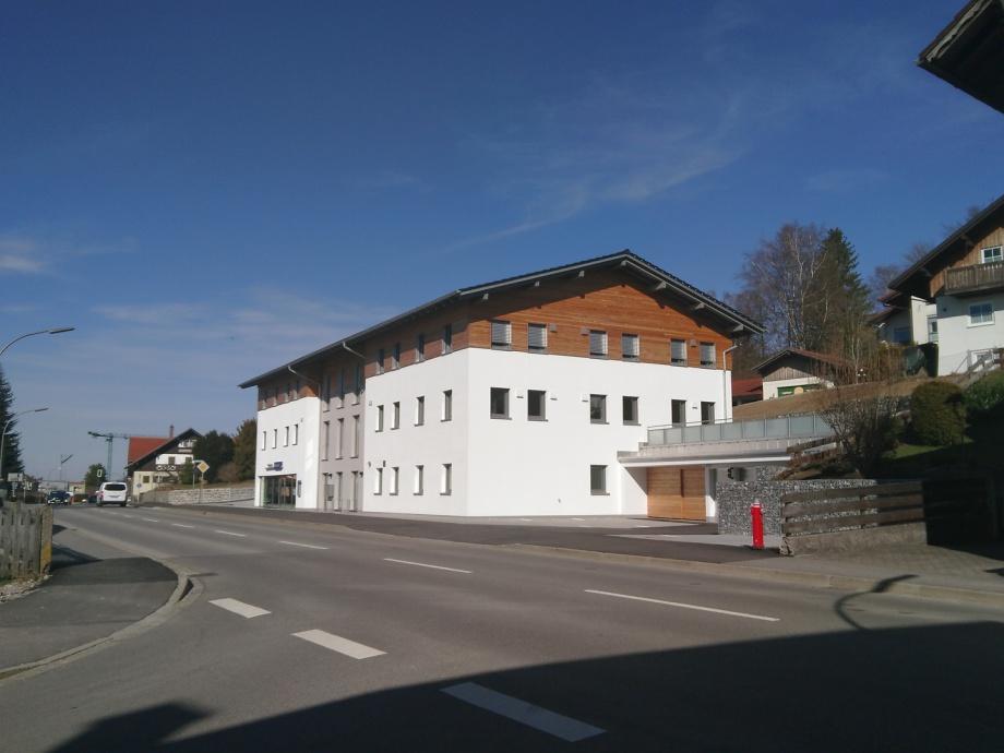Mehrfamilienhaus, Fassadenansicht